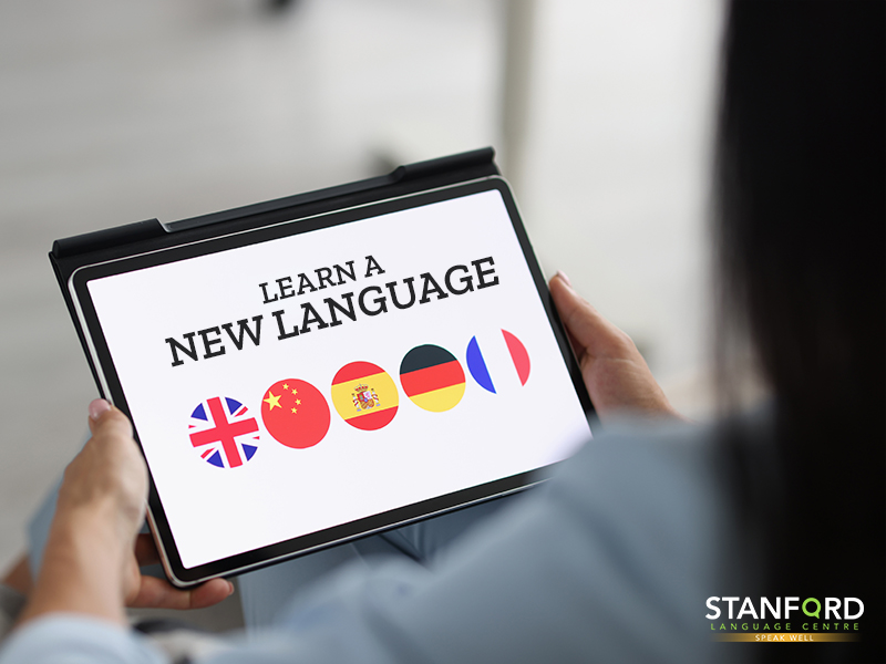 Learning A New Language on A Tablet